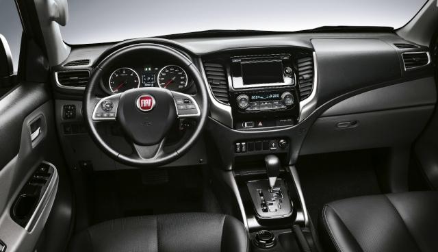Fiat Fullback Kokpit otogundem