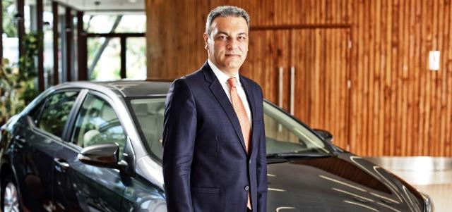 Toyota Türkiye Pazarlama ve Satış A.Ş. CEO'su Ali Haydar Bozkurt otogundem