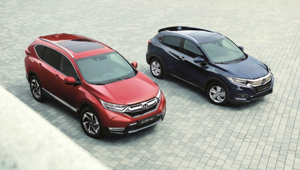 Honda'nın SUV ailesi